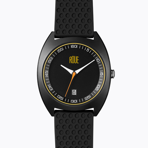 Roue Watch CAL Three with Silicone Band