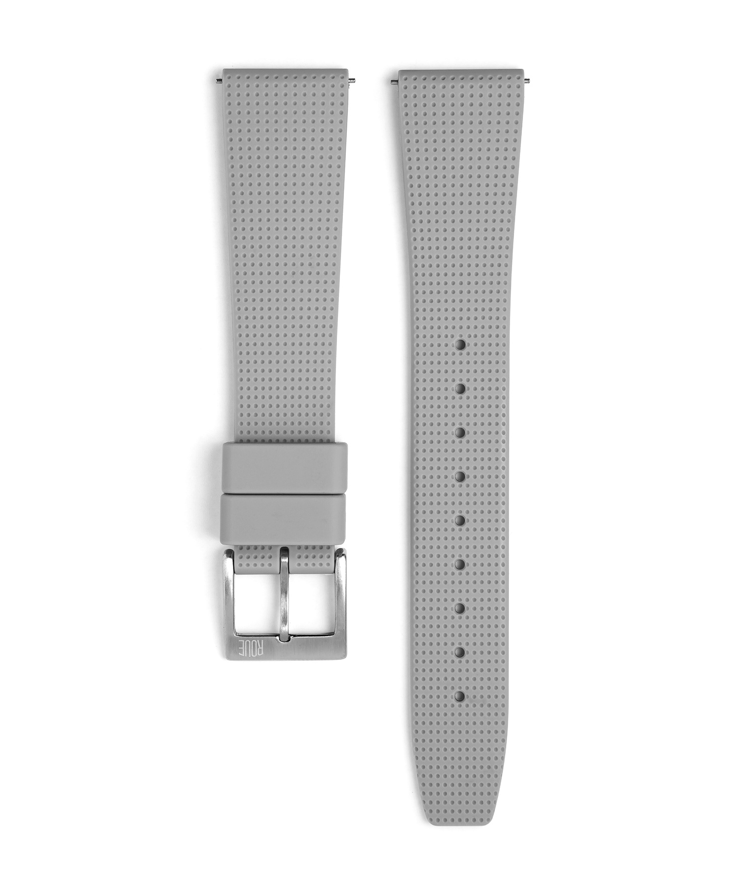 Roue Watch Grey Silicone Strap for TPS model