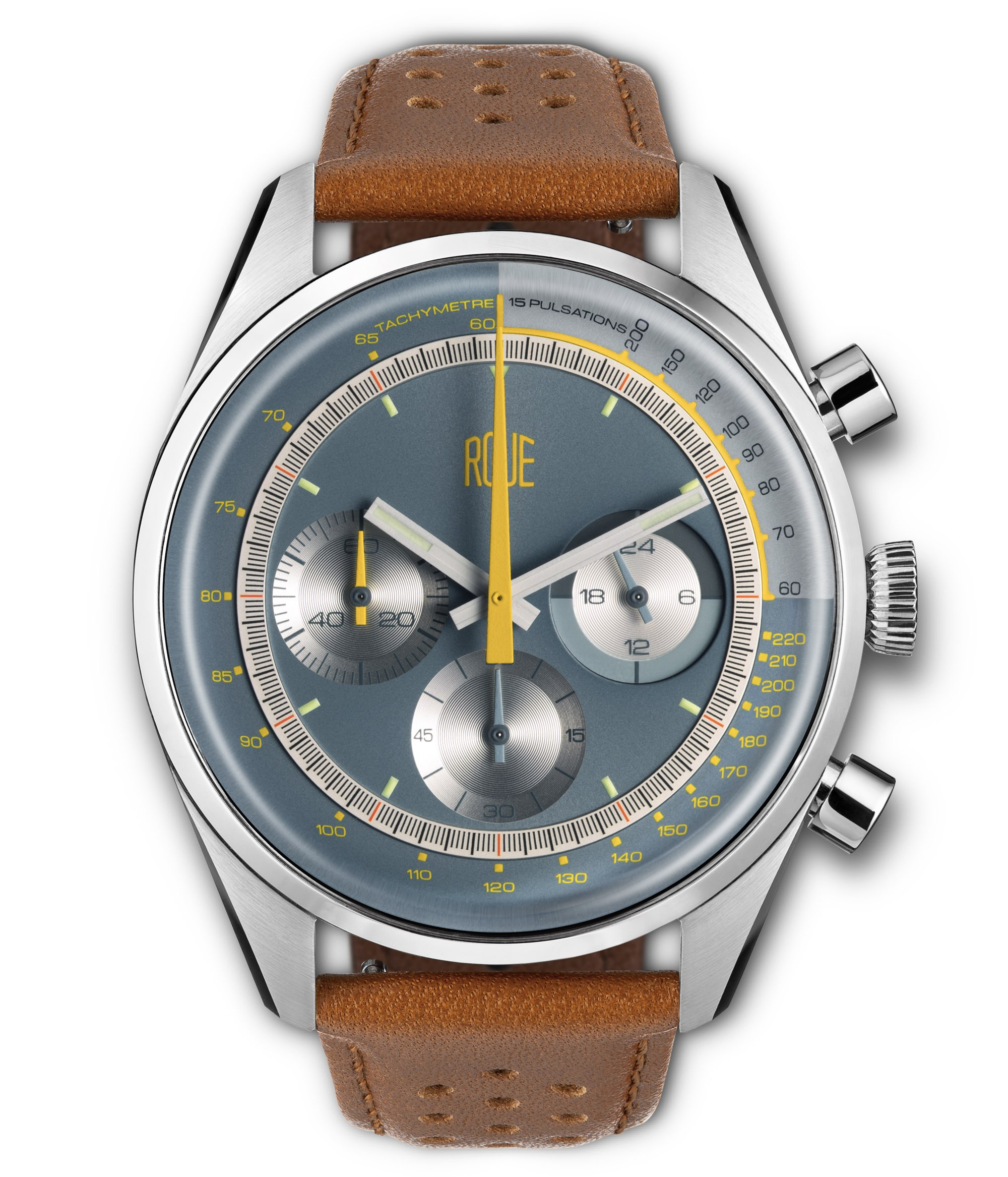 Roue Watch - TPS Three Leather Strap