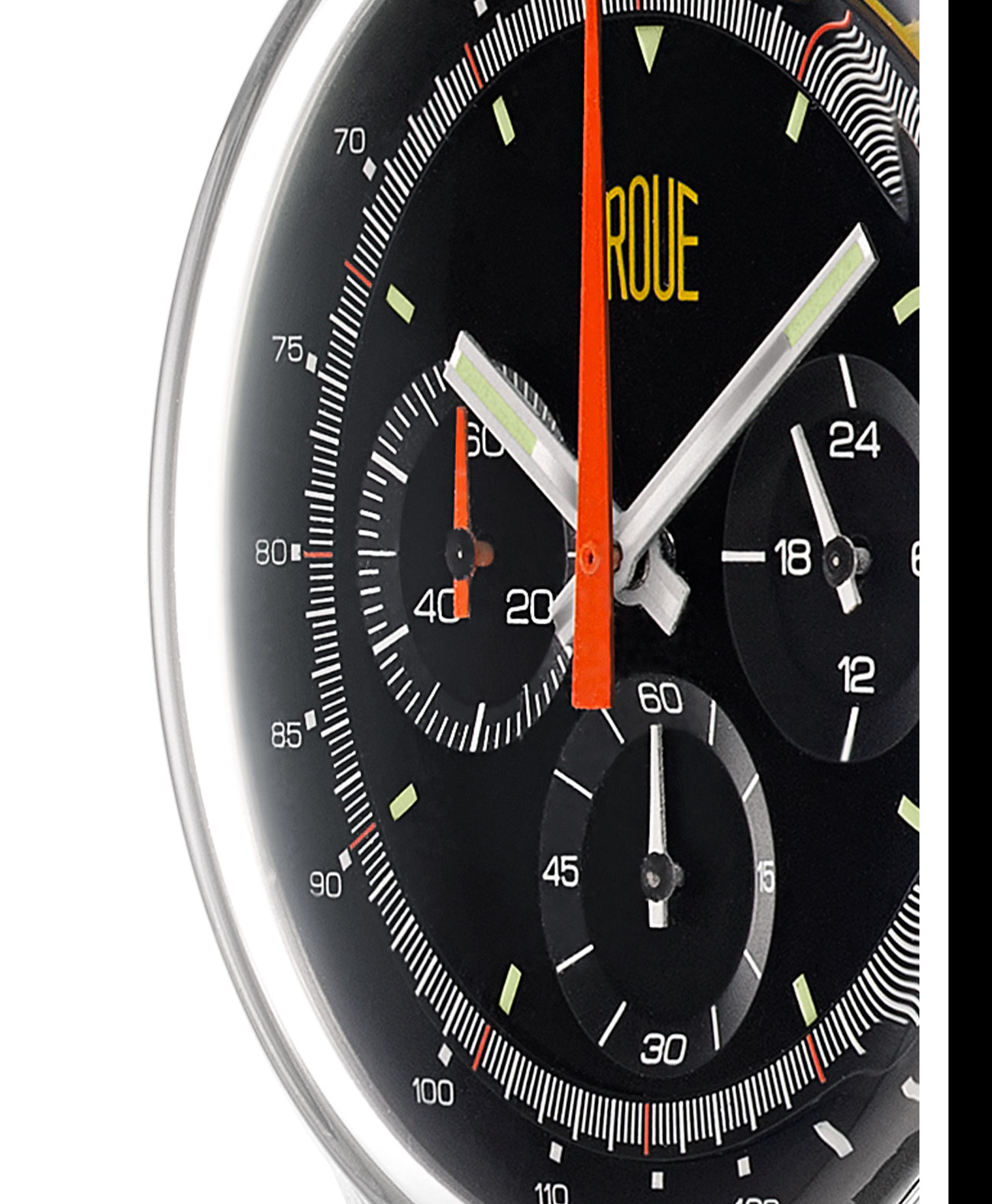Roue Watch TPS Model - Seiko VK63 Meca-Quartz Movement