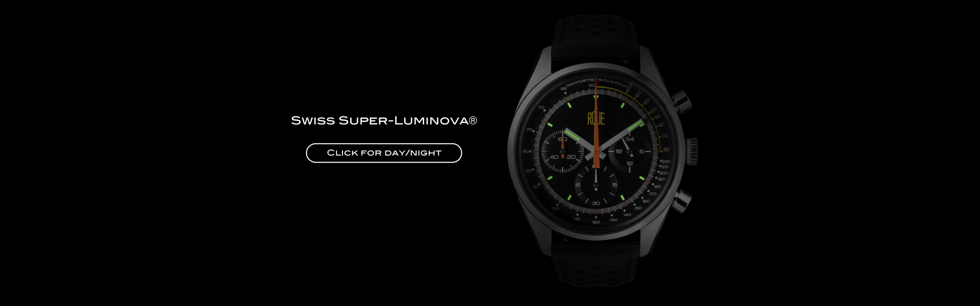 Roue Watch TPS Model - Swiss Super-Luminova®